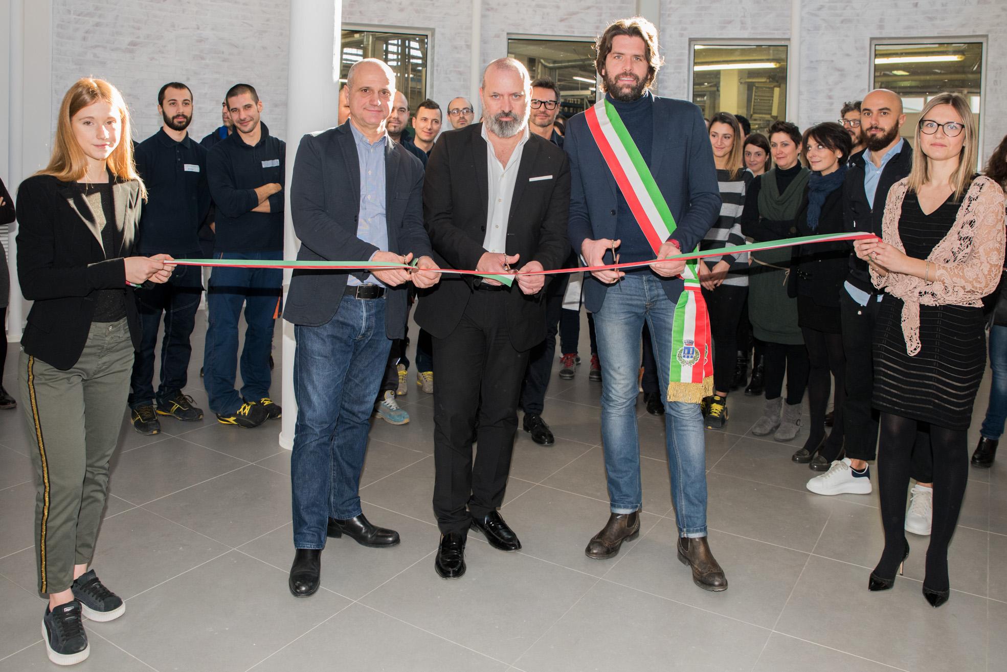 Tacchificio Zanzani inaugurazione